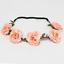 Festival-Haarband-Blumen-Kranz-Rosen-Madchen-Kinder-Kommunion-Blumenkinder-Blume 縮圖 8