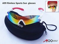 A99 Golf Multicolor Sun Glasses In Mould Case Great Gift