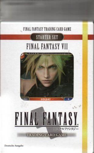 Square Enix SQX0005 - Final Fantasy VII Starter - Feuer und Erde - Neu / OVP
