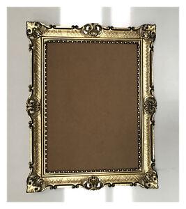bilderrahmen 90x70 gold schwarz antik barock rokoko fotorahmen hochzeit rahmen ebay. Black Bedroom Furniture Sets. Home Design Ideas