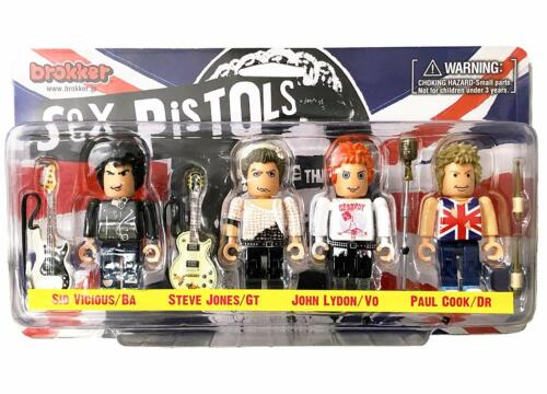 Les sex pistols brokker Sex Pistols 4 Set Figure Punk Collection Action Figure