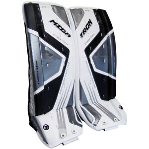 4a5083ac5e2 Tron Mega Goalie Ice Hockey and Roller Hockey Leg Pads - Junior 28+1 ...