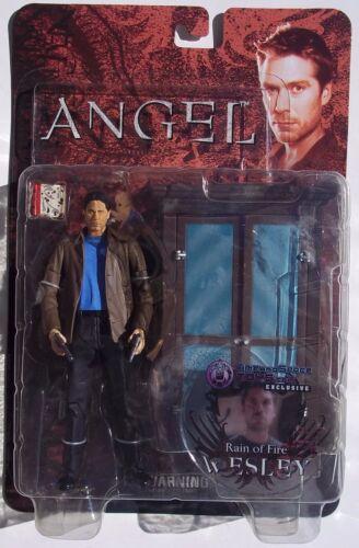 """neuf sur carte BTVS//Angel /""""Pluie de feu/"""" Wesley Time /& Space Toys Exclusive Action Figure"""
