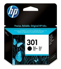 HP Deskjet 1000 Printer Ink Cartridge Genuine Original 301 Black CH561E 3050a bn