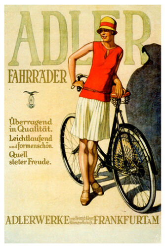 Adler Vintage poster reproduction.