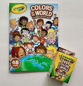 Crayola-Colors-of-the-World-Multicultural-Crayons-32-Pack-and-Activity-Book