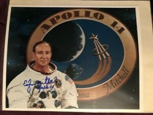 REPRINT Apollo 11 Edgar Mitchell Autographed Signed 8x10 Photo