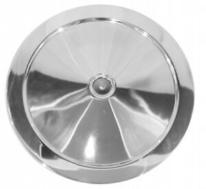 1966-1972-CORVETTE-CHROME-AIR-CLEANER-LID-NEW-REPLACEMENT
