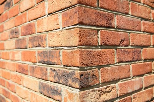 Hampton rural Blend-brique feuillets//brique tile//brique Parement//Wall Tile Sample