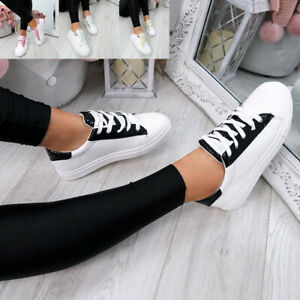 WOMENS-LADIES-SNAKE-SKIN-GLITTER-LACE-UP-TRAINERS-PLIMSOLLS-SNEAKERS-SHOES