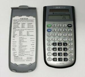 Texas-Instruments-TI-36X-Solar-Scientific-Calculator-School-College-University