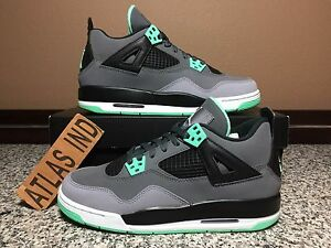 size 40 1c2ae f33f2 Image is loading AIR-JORDAN-4-RETRO-Green-Glow-IV-1-