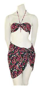 Rosapois-Bikini-Set-incl-Pareo-Bunt-Bandeau-Brasilslip-Wendbar-Gr-2-36-38-S