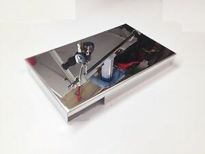 corvette fuse cover polished stainless c6 2005 2013 engine. Black Bedroom Furniture Sets. Home Design Ideas
