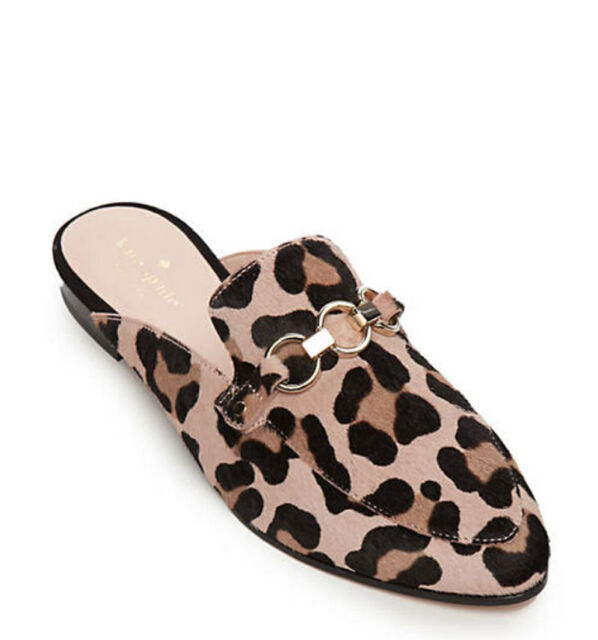 pretty nice check out quality design NIB Kate Spade CeCe Too Calf Hair Leopard Loafers Mules 6 $295+ ...