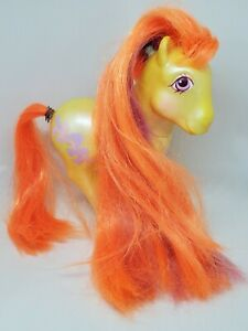 READ Vintage My Little Pony Beautiful Bows G1 MLP Hasbro Hair Do UK Exclusive