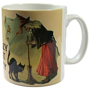 Crazy-Cat-Lady-Mug-Witch-Coffee-Mug-Cat-Lovers-Gift-Mug