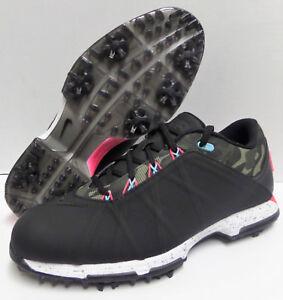 382c2c02a32c 2017 NIKE LUNAR FIRE Golf Shoes Mens Black Camo Pink Cargo 853738 ...