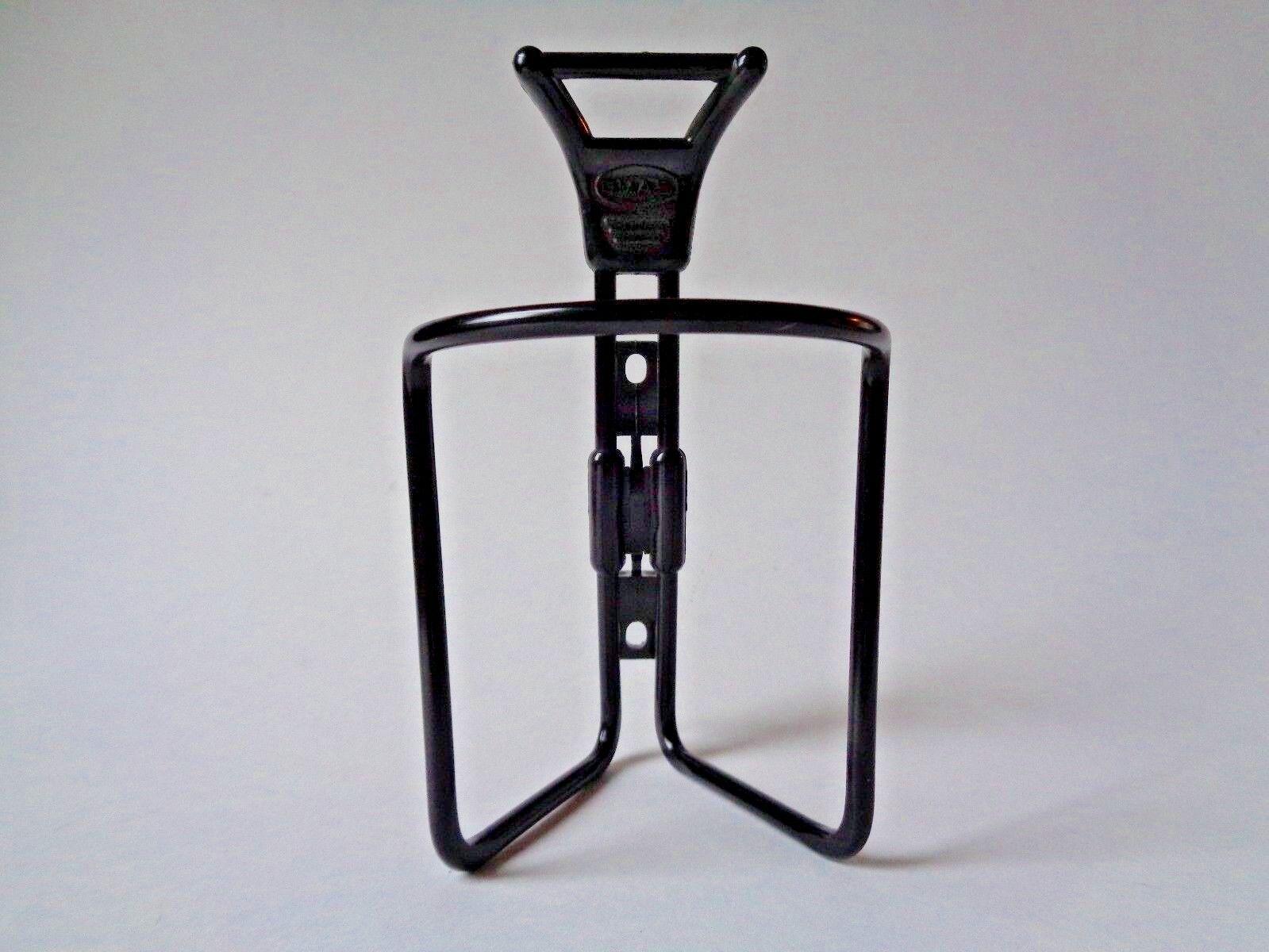 Nos Vintage 1980s OMAS Superleggera in alluminio nero Water Bottle Cage Holder
