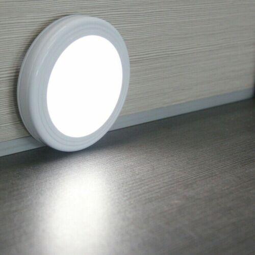 6LED Rechargeab Motion Sensor Light PIR Wireless Night Cabinet Closet Stair Lamp