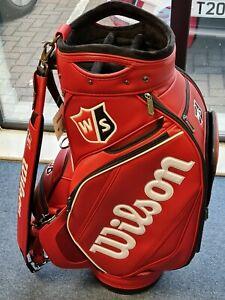 Wilson Staff Tour Staff Bag / Red & Black / New