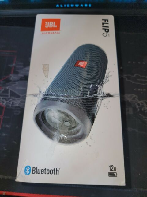 JBL Flip 5 Blue Portable Bluetooth Speaker JBLFLIP5BLUAM