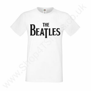 The-Beatles-Music-T-shirt-Men-039-s-Fan-T-Shirt-Top
