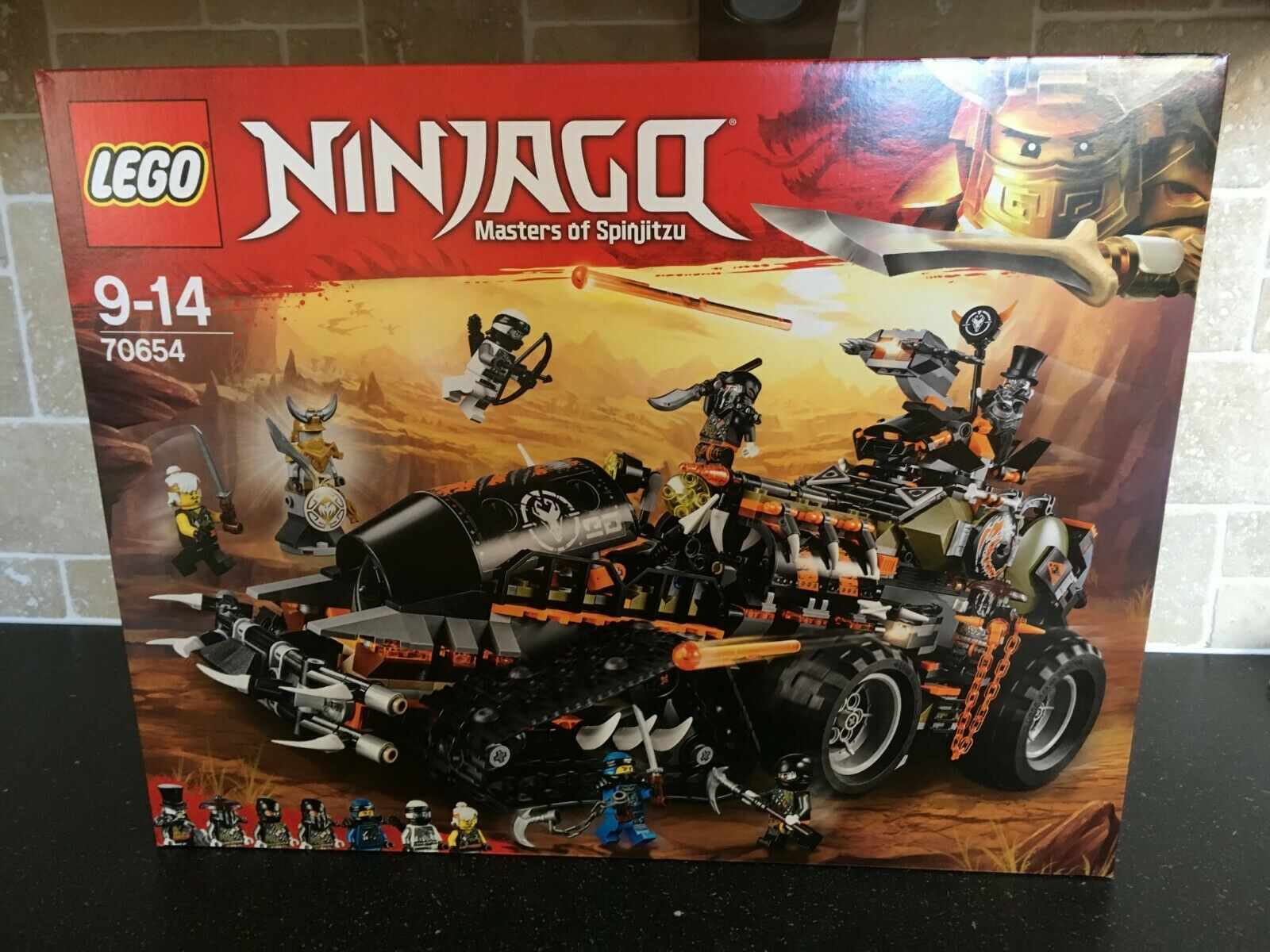LEGO NINJAGO - 70654 Dieselnaut Brand New In Sealed Box