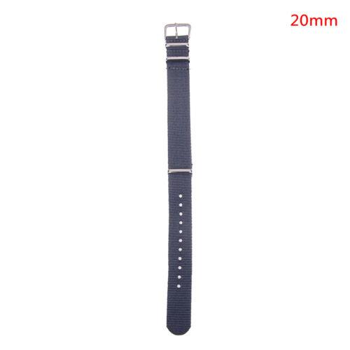 Armband Nylonarmband 18mm 20mm Ersatzbandzubehör MDDE W0 AB