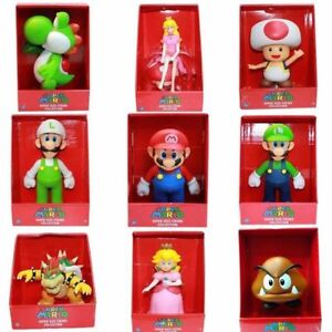 "9/"" High quality  Super Mario Bros Action Figures Toys BIG SIZE with Original box"