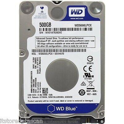 """WD 500 GB 2.5"""" HDD WD5000LPCX"""