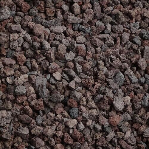 20 L Lava-Mulch rot-braun 8-16 mm Zierkies Gartenkies Teichkies Ziersplitt Zen
