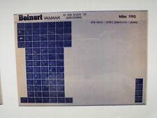 Yamaha XT 600_ N_H_1991 Microfilm Catalogo ricambi Erzatztteil Listello