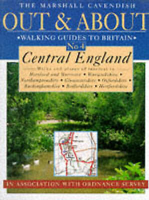 1 of 1 - Ordnance Survey, Central England (Out & about walking guides to Great Britain),