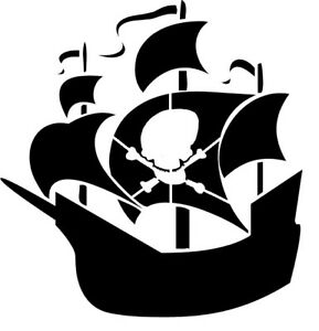 reusable mylar pirate ship boat stencil airbrush crafting Halloween Mickey Mouse Hat Clip Art mickey mouse ears hat clip art