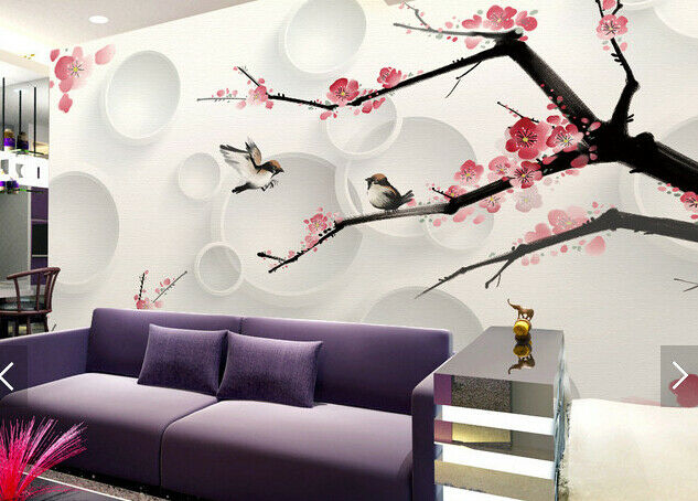 3D Flowers Space 5769 Wall Paper Wall Print Decal Deco Indoor Wall Mural CA