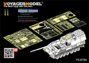 Voyager-Models-1-35-PzH2000-SPH-Basic-Detail-Set-w-Add-On-Armour-for-Meng-TS-019