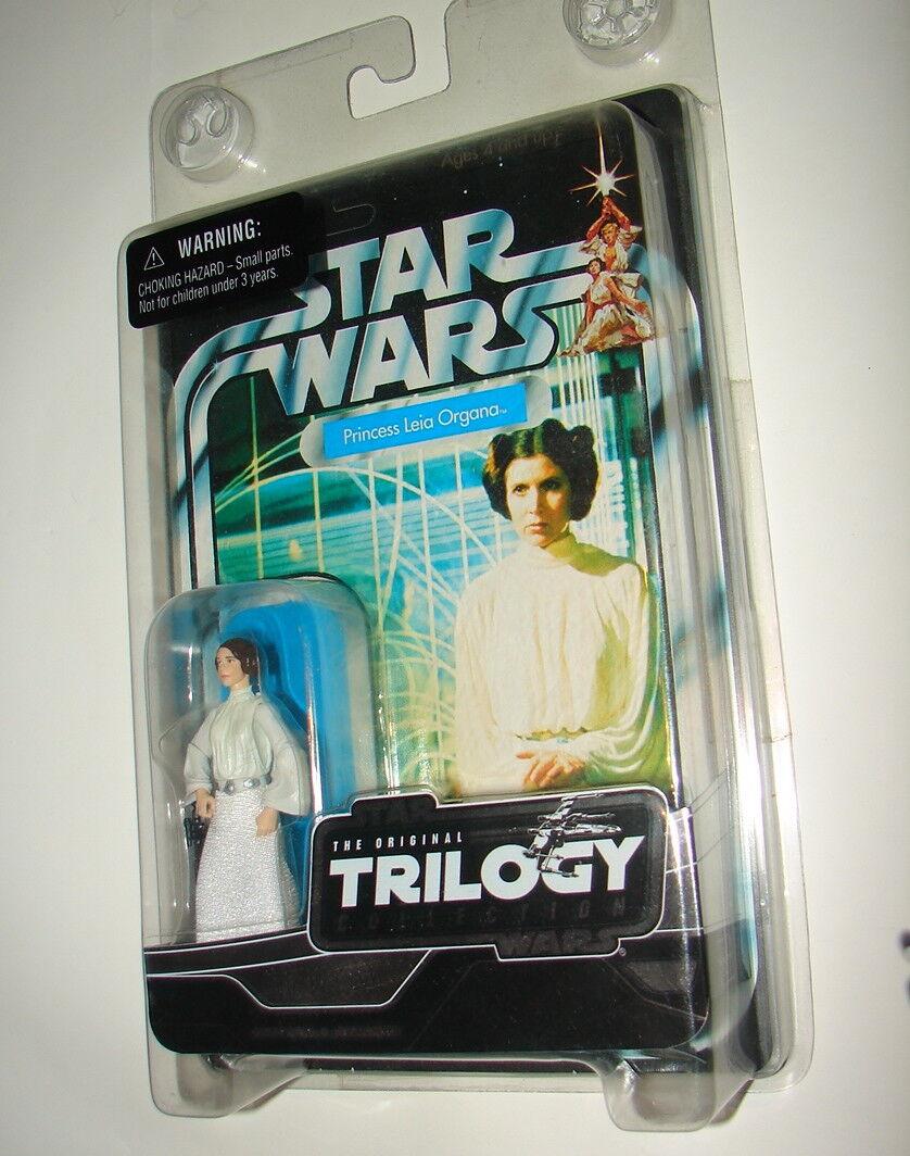 Star Wars VC VOTC original trilogy Princess Leia ANH MOC MISP FIGURE 2004 1018
