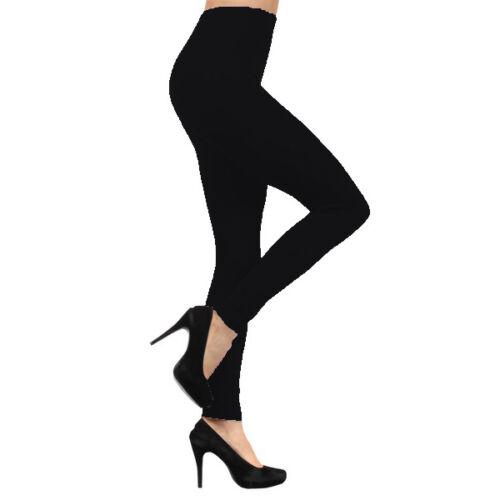 Juniors Plus Fleece Lined Tight Leggings Winter Thick Warm Strechy Pants S~3X