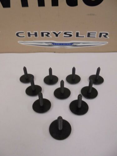 05-10 Chrysler 300 Front Lower Belly Pan Screw Kit Set Of 10 Factory Mopar New