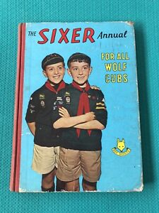 The-Sixer-Annual-For-All-Wolf-Cubs-1961-Book-R-Wilson-Vintage