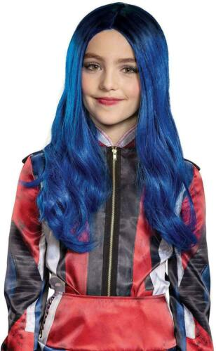 Descendants Evie Mal Cosplay Costumes Girls Jumpsuit Wig Fancy Dress Christmas