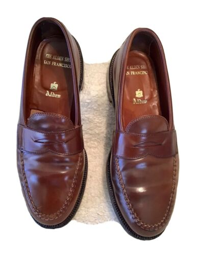 Alden 9 EE Ravello LHS Loafers Shell Cordovan