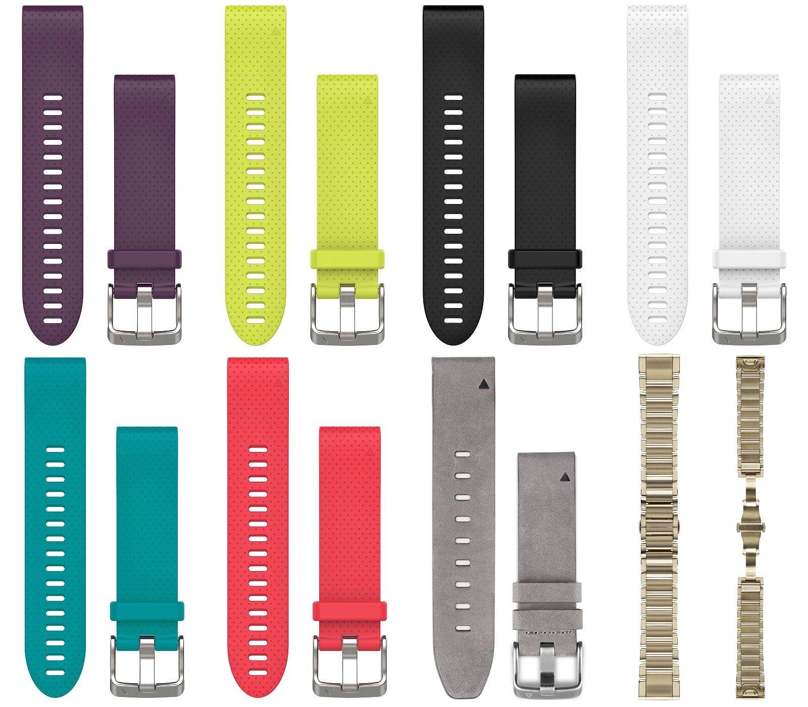 Garmin Quickfit ™ 20 reemplazo Correas De Reloj Garmin Fenix 5S, Sapphire, 5S Plus