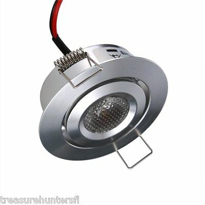 Lighting LED Downlights 12 Volt Recessed RV Camper Trailer Motorhome Warm White
