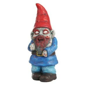 Zombie-Garden-Gnome-Lawn-Ornament-Halloween-Decoration-Funny-Novelty-Gift