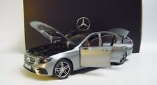 1:18 KYOSHO 2016 MERCEDES BENZ E-Class W213 AMG gray NEW DEALER PROMO MODEL !