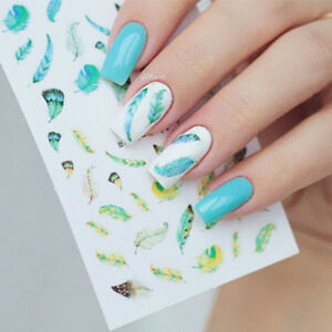 3D-Feather-Design-Nail-Stickers-Decal-Nail-Art-Manicure-Decoration-Tips