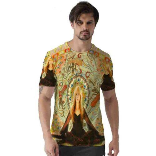 Stevie Nicks Tshirt Fullprint Tee New T-Shirt For Men