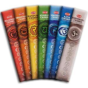 Hem-039-s-7-CHAKRA-Incense-Sticks-35-Sticks